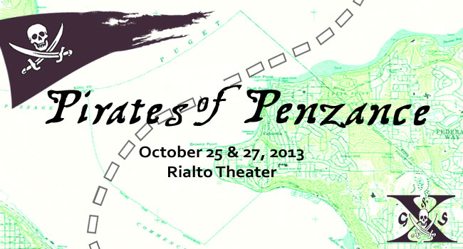 Pirates of Penzance – this fall!