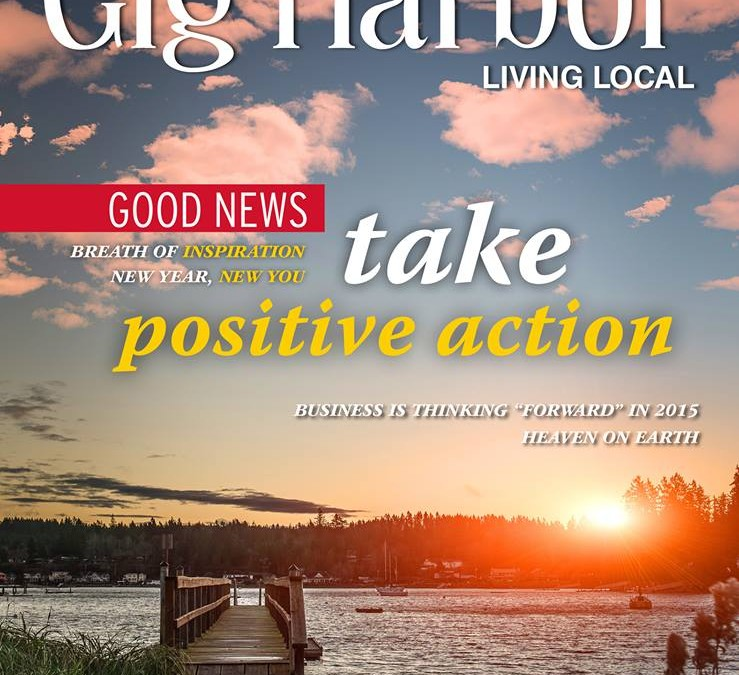 "Gig Harbor Living Magazine: ""A Breath of Inspiration"""
