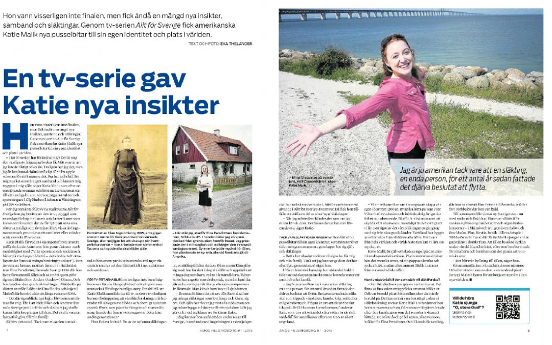 Amos Helsingborg Magazine – February 2015