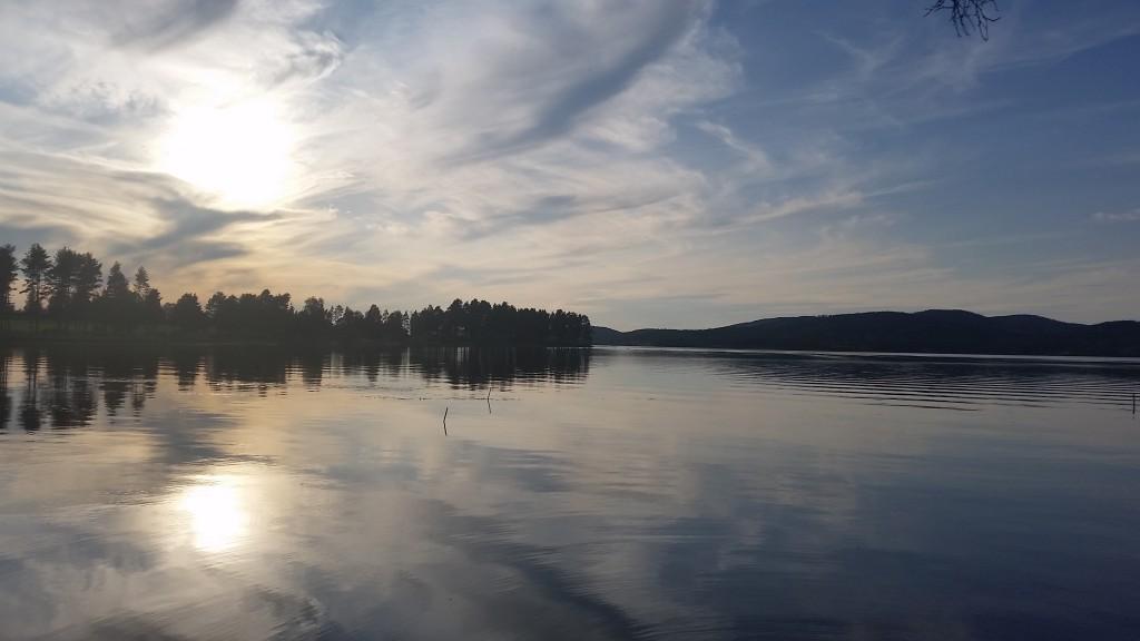 Österdalälven near Insjön, Sweden.