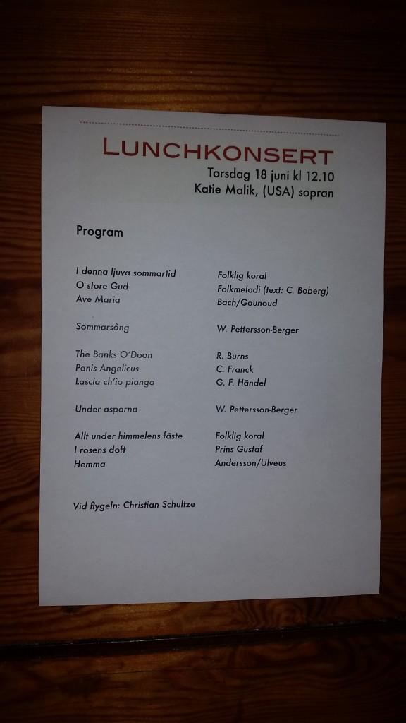 St Johannes program